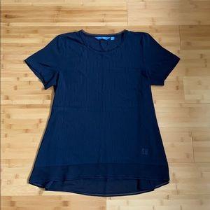 Simply Vera Wang Navy Blue Shirt